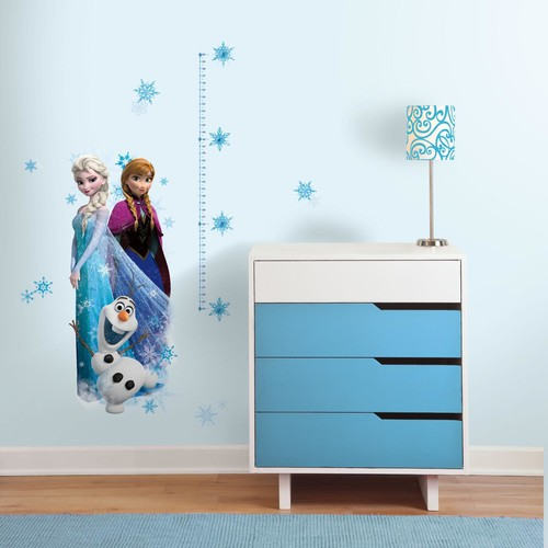 Frozen Elsa, Anna and Olaf Peel and Stick Giant Growth Chart