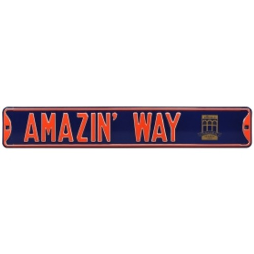 Authentic Street Signs New York Mets Amazin' Way' Street Sign