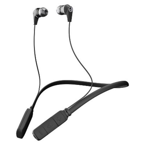 Skullcandy - INK'D Wireless In-Ear Headphones - Gray/Black