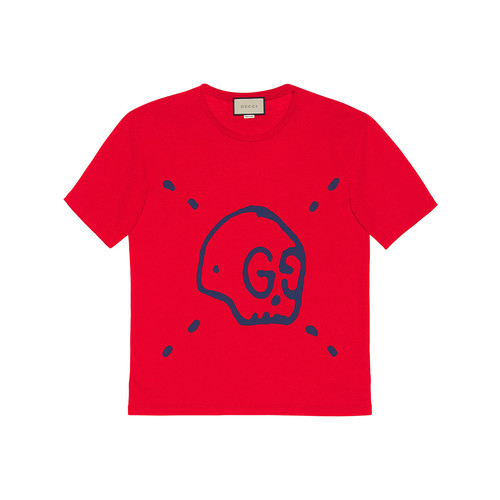 GUCCI Ghost Cotton T-Shirt