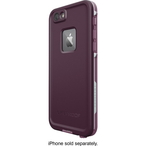 LifeProof - FRE Case for Apple iPhone 6 and 6s - Purple