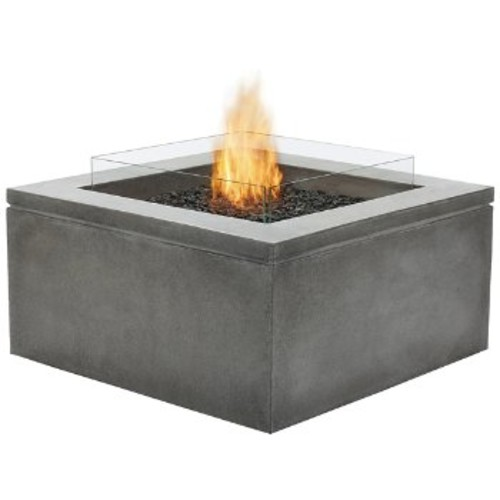Brown Jordan Fires Quad Fire Table [Finish : Natural; Burner Type : Liquid Propane/Natural Gas]