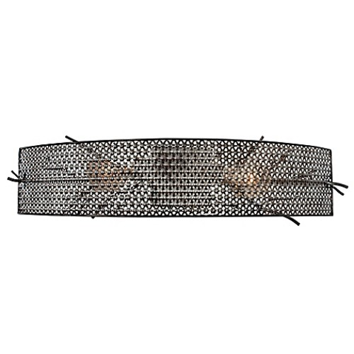 Varaluz Treefold 2-Light Vanity Light in Steel