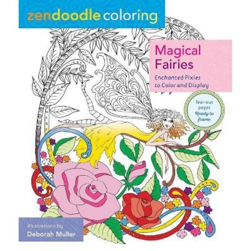 Magical Fairies: Enchanted Pixies to Color and Display (Paperback)