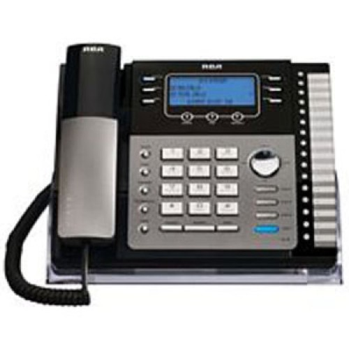 RCA 25423RE1 4-Line Expandable System Phone with Intercom