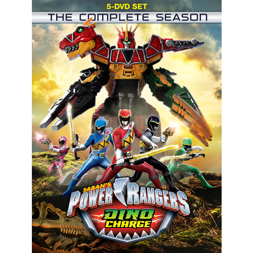 Power Rangers Dino Charge: The Complete Season [DVD]