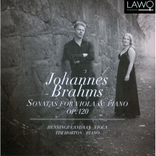 Brahms: Sonatas for Viola & Piano Op. 120 [CD]