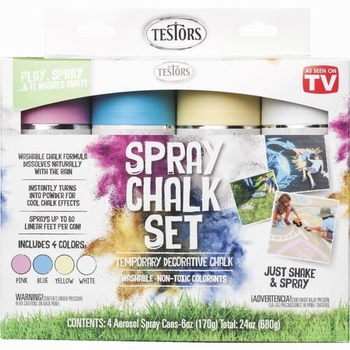 As Seen on TV Testors Spray Chalk Kit