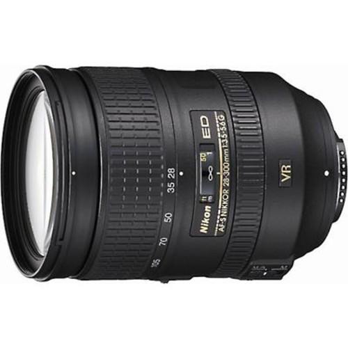 Nikon AF-S Nikkor 28-300mm f/3.5-5.6G ED VR Zoom lens for Nikon SLR cameras
