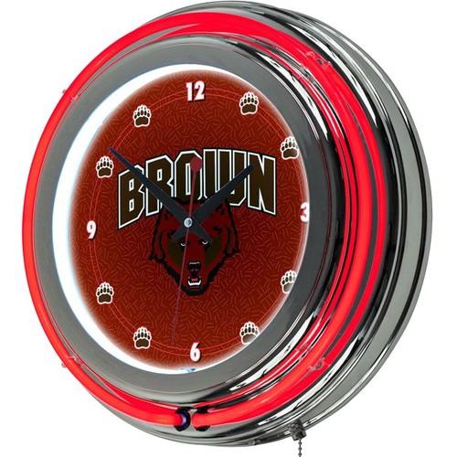 Trademark Games Brown Bears 14'' Neon Clock