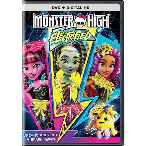 Monster High: Electrified DVD (DVD/Digital HD)