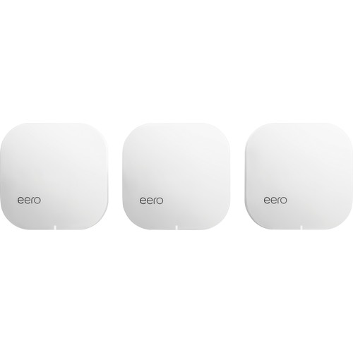 eero - Pro Mesh WiFi System (3 eeros), 2nd Generation - White