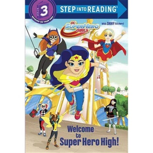 Welcome to Super Hero High! (Deluxe) (Paperback) (Courtney Carbone)