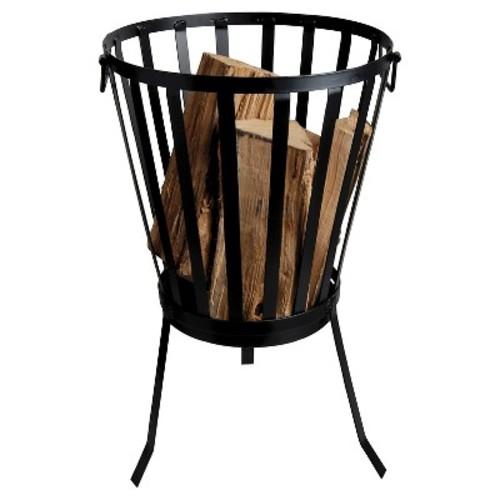 Esschert Design Metal Fire Basket - Black