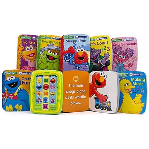 Me Reader Jr. Sesame Street Electronic Reader and 8-Book Library