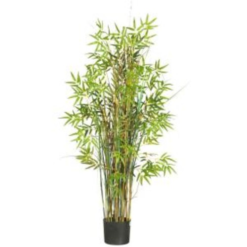 Nearly Natural 5 ft. Bamboo Grass Silk Plant