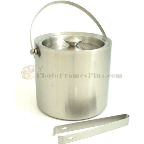 Stainless Steel 5 Qt. Ice Bucket Set