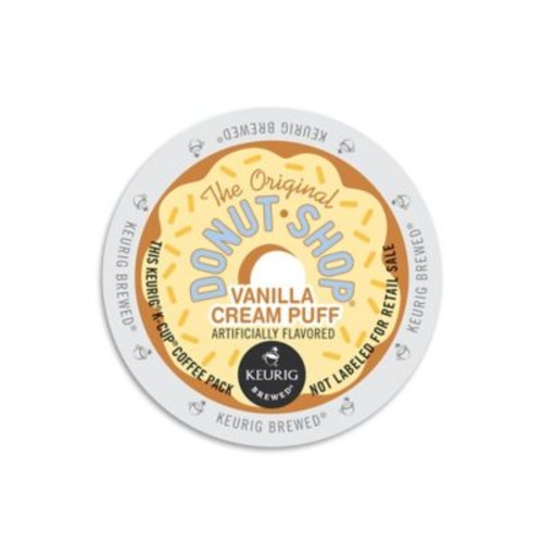 Keurig K-Cup Pack 18-Count The Original Donut Shop Vanilla Cream Puff Coffee