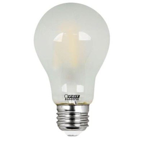 Feit Electric 40W Equivalent Soft White (2700K) A19 Filament LED Frosted Glass Light Bulb (Case of 8)