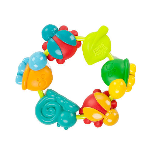 Bright Starts Buggy Bites Teether - Neutral