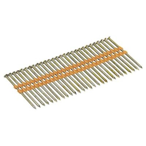 DEWALT 3-1/4 in. x 0.131 in. Galvanized Metal Framing Nails 2000 per Box