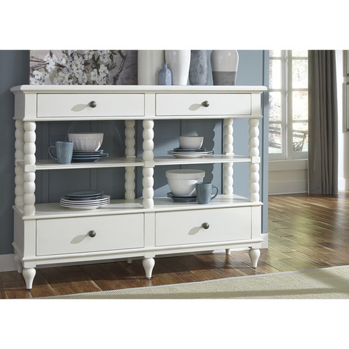 Liberty Buffets, Sideboards & China Cabinets Cottage Harbor White Sideboard Server