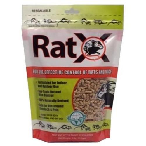 RatX 1 lb. Rodenticide Granules