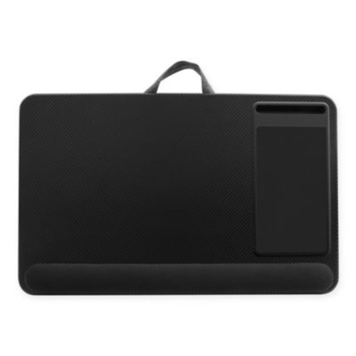 Deluxe XL Laptop Lap Desk in Black Carbon