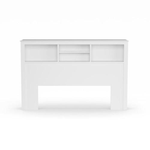 Monterey Headboard White (Full/Queen) - Prepac