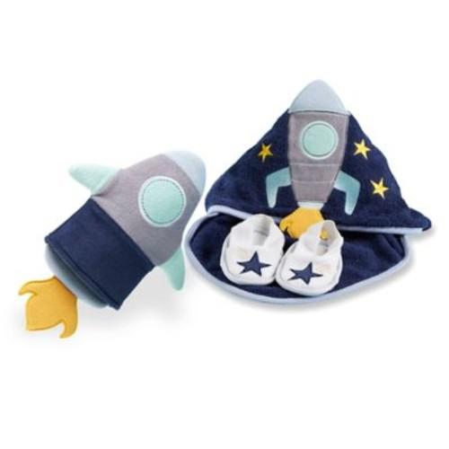 Baby Aspen 4-Piece Cosmo Tot Spaceship Bath Gift Set