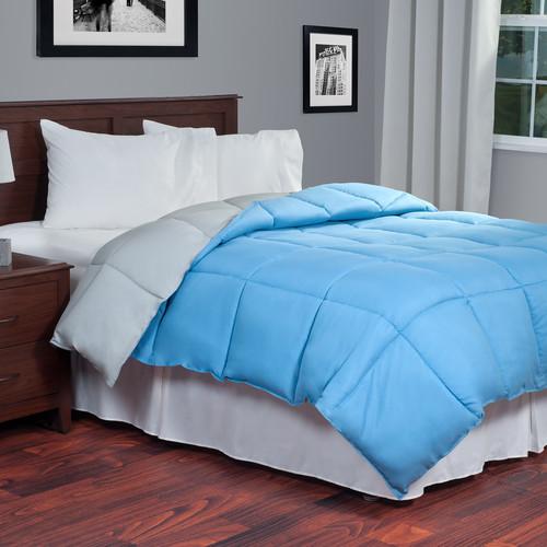 Lavish Home Reversible Down Alternative Comforter