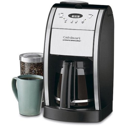 Cuisinart 12 Cup Programmable Grind & Brew Coffee Maker (Certified Refurbished)