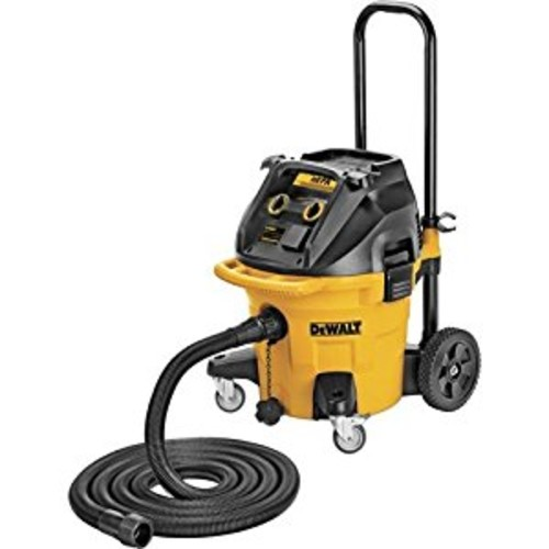 DEWALT DWV012 10-Gallon Dust Extractor with Automatic Filter [Yellow]