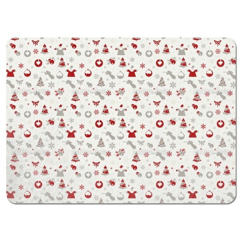 Christmas is Here Placemats (Set of 4)