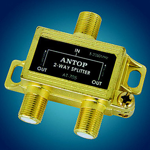 Antop AT-705 2-Way 2GHz Low-Loss Coaxial Splitter