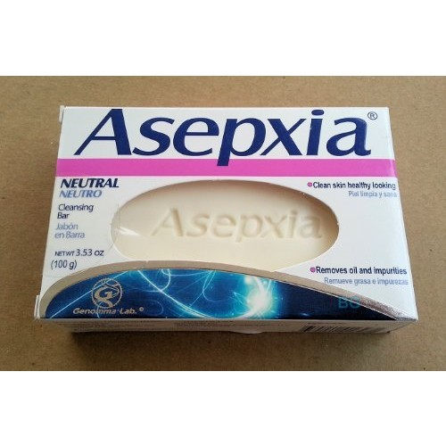 Asepxia Asepxia acne cleansing soap bar 3.53 oz., 3.52 Ounce [Pack of 1]