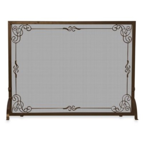 UniFlame S-1615 44-Inch Bronze Fireplace Screen