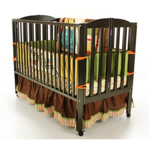 Full Size Folding Crib [Finish : Black]