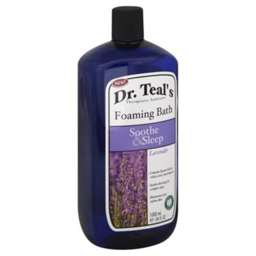 Dr. Teal's Therapeutic Solutions 34 oz. Soothe & Sleep Foaming Bath in Lavender