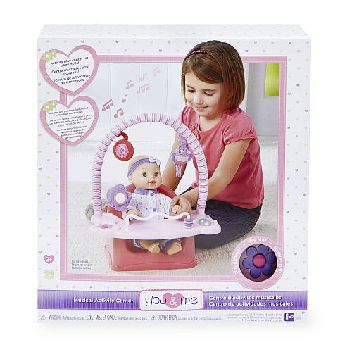 You & Me Musical Doll Activity Center