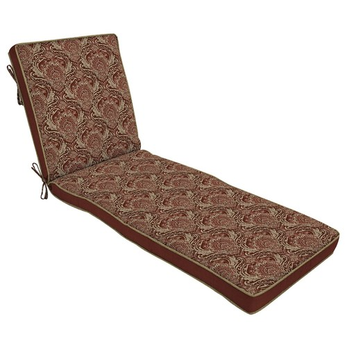 Bombay Outdoors Venice Damask Reversible Lounge Chair Cushion