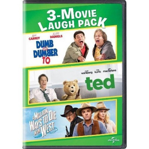 Dumb And Dumber To/ Ted/ A Million Ways To Die In The West [DVD]
