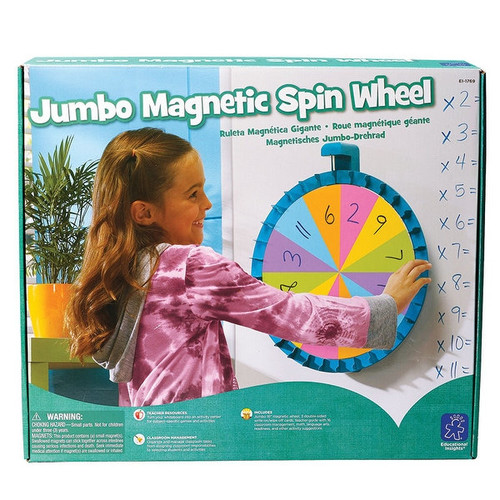 Learning Resources Games & Puzzles Jumbo Magnetic Spinner