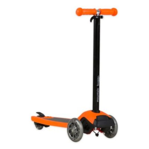 Mountain Buggy freerider Stroller Board And Scooter in Orange