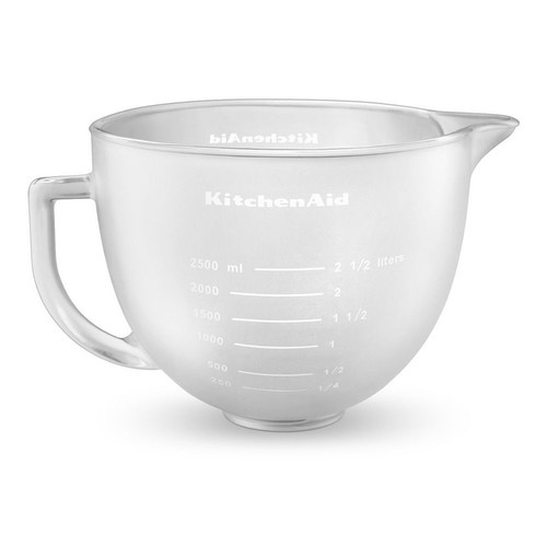 KitchenAid Frosted Covered Glass Bowl for 5-qt. Bowl-Lift Stand Mixers