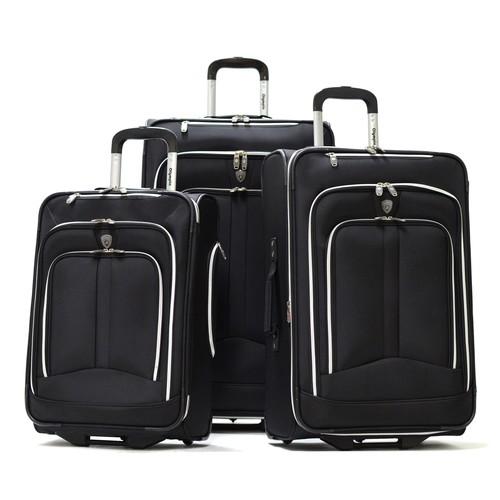 Olympia Hamburg 3-Piece Wheeled Luggage Set