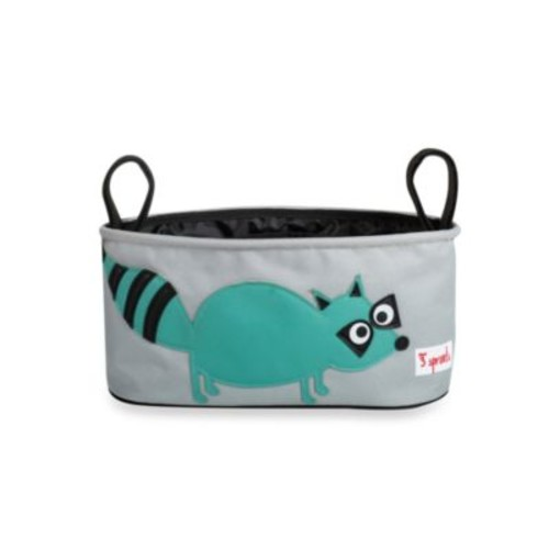 3 Sprouts Stroller Organizer in Racoon