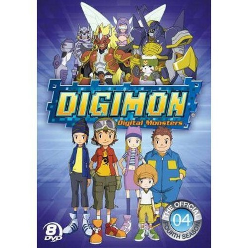 Digimon: Digital Monsters - The Official Fourth Season [8 Discs] [DVD]
