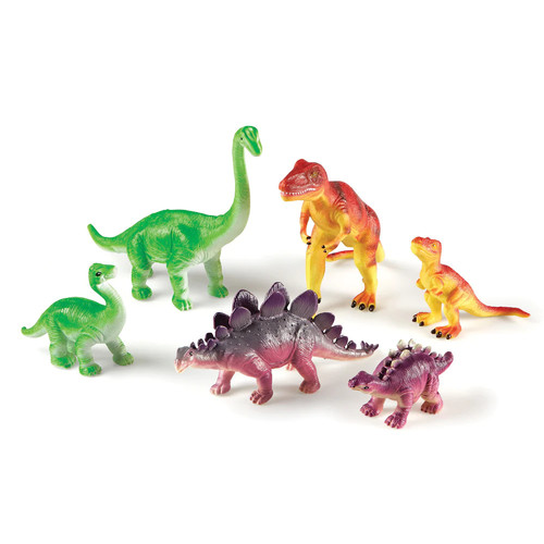 Learning Resources Jumbo Dinosaurs Mommas and Babies Play Set