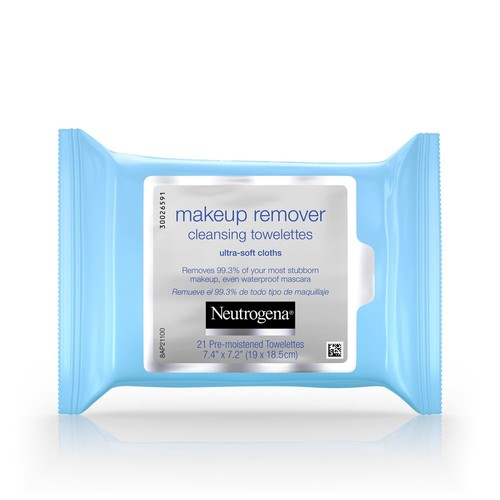 Neutrogena Cleansing Towelettes, Makeup Remover, 21 towelettes